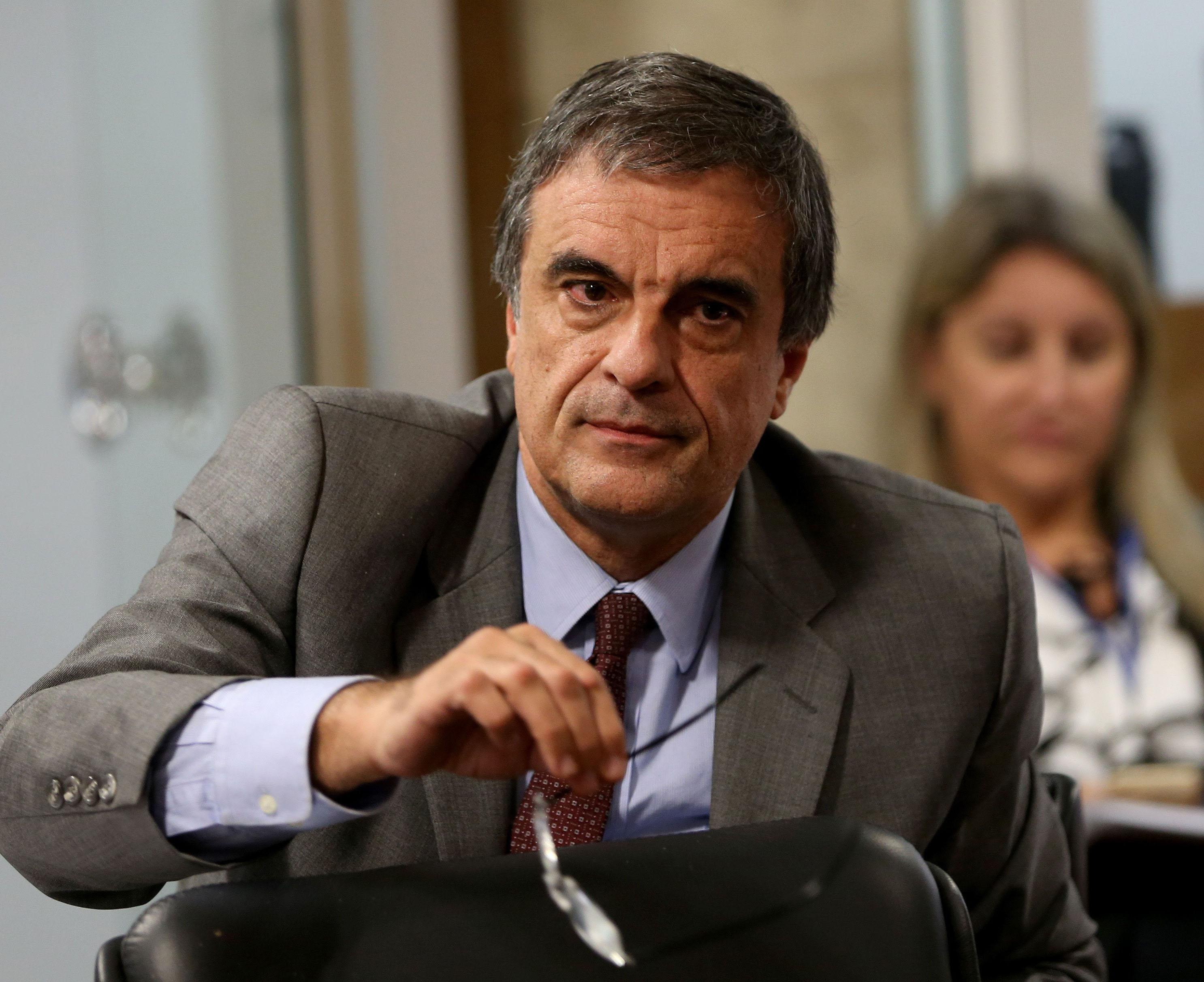 Brasília - O advogado de Dilma, José Eduardo Cardozo na Comissão Processante do Impeachment durante oitiva do ex-ministro da Defesa Aldo Rebelo (Wilson Dias/Agência Brasil)
