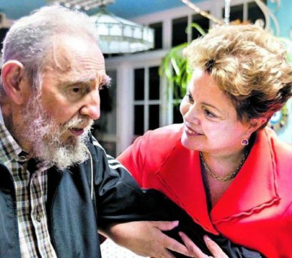Dilma-Fidel