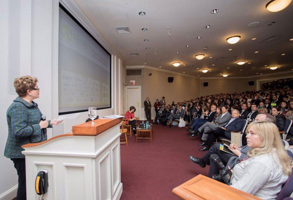 Dilma Rousseff em Harvard